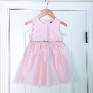 Pink and Silver Sparkle Dress